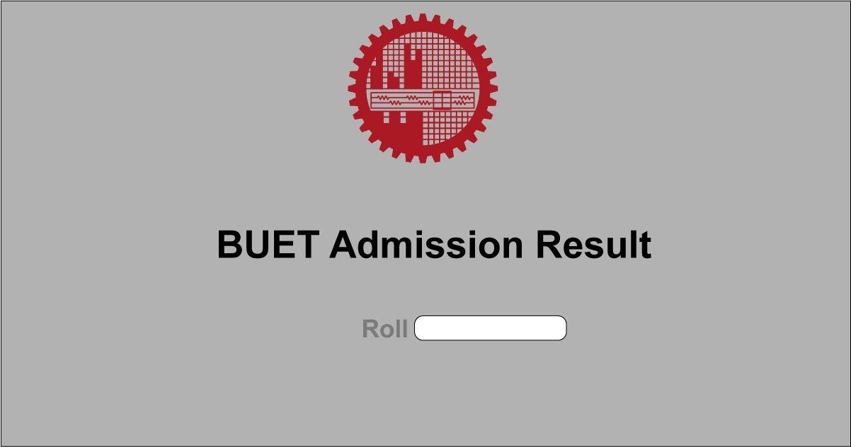 buet admission result